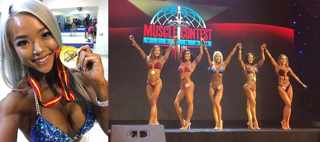 Nicole Tan wins IFBB Bikini Competition