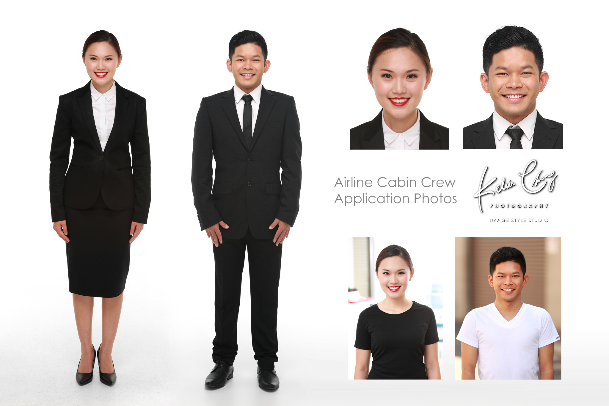 Interview Headshots for Cabin Crew